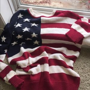 🧣The Limited Soft Flag CrewNeck Sweater🧣